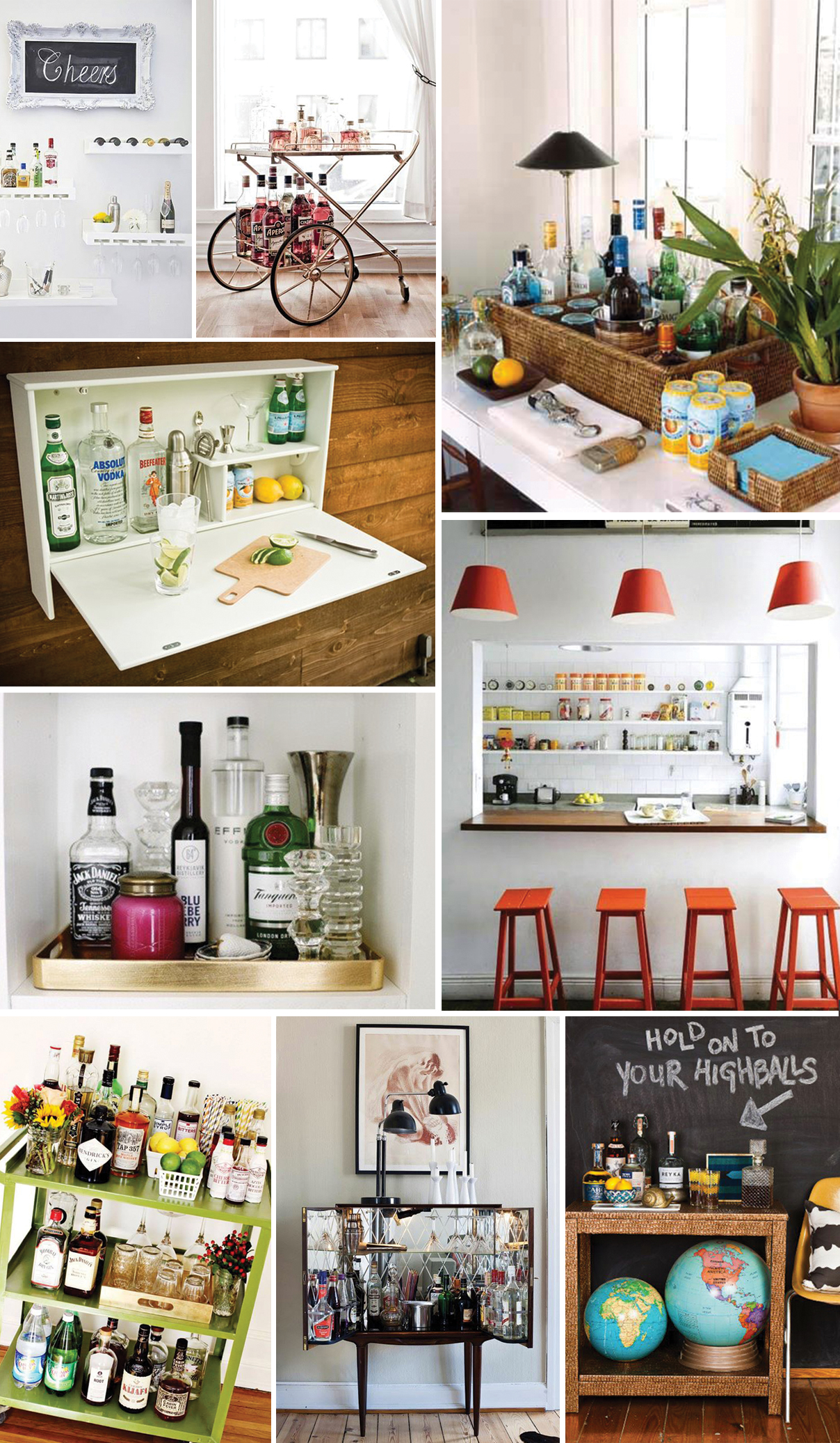 DIY : Home Bar | BOURBON AND CHIMES